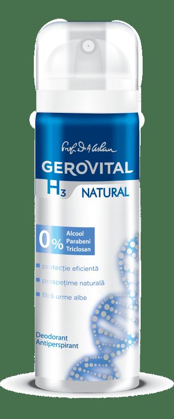 Deodorant Gerovital H3 Natural (Small)