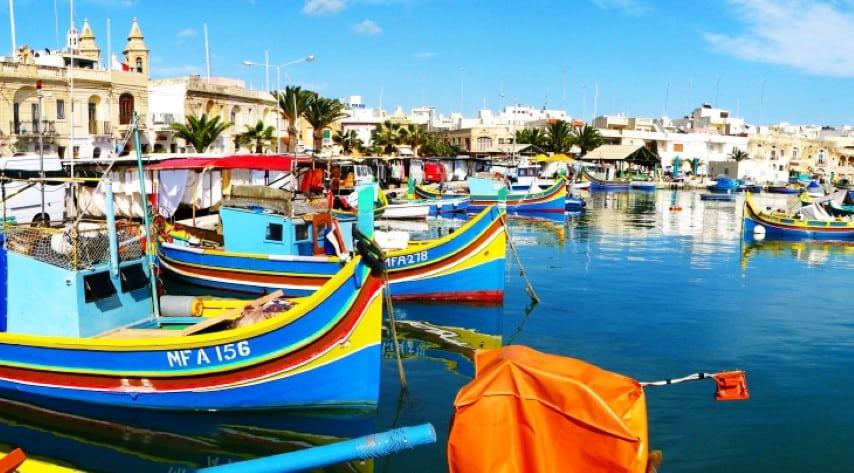 Malta - Marsaxlokk Fishing Village 02 by Vanicsek Péter_0 (Small)