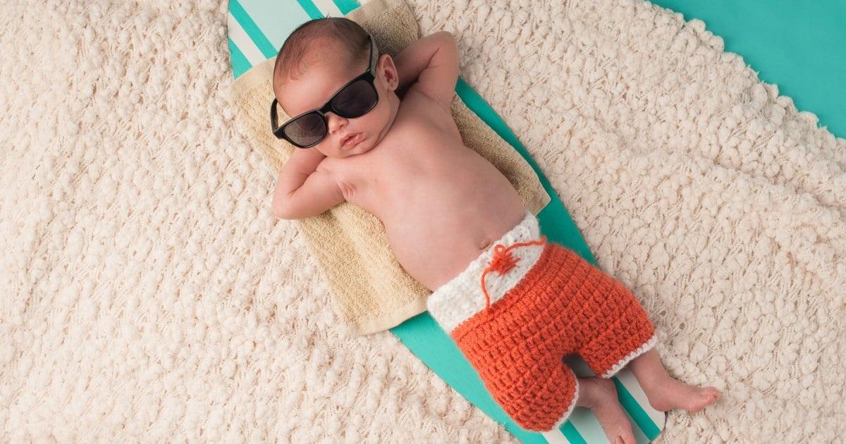 bebe la plaja 1