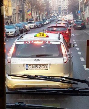 trafic blocat cluj
