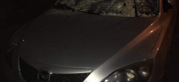 masina vandalizata cluj