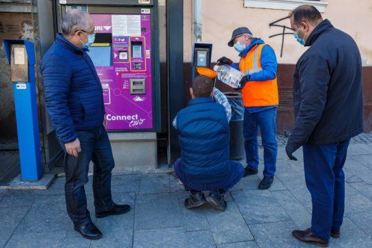 Dispensere cu dezinfectant Cluj-Napoca