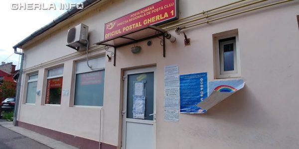 Poșta din Gherla închisă, după ce o angajată a fost depistată pozitiv Covid-19