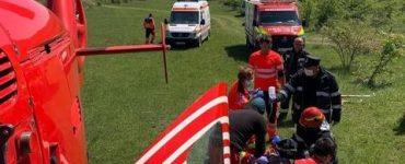 Un clujean a fost accidentat grav la locul de muncă