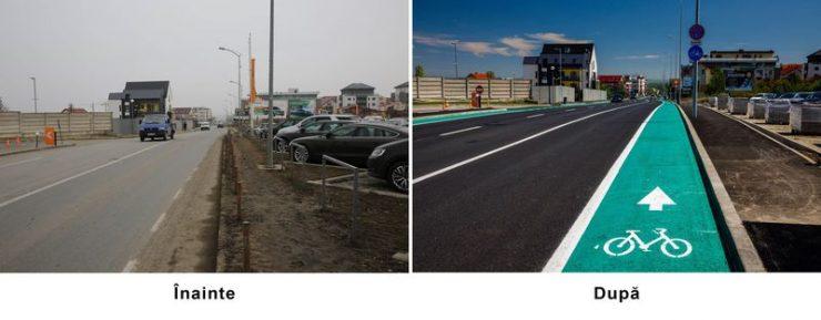 Strada Bună Ziua a fost modernizată. Cum arata acum FOTO