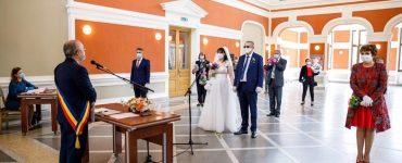 S-au reluat căsătoriile în clădirea Casino din Parcul Central Cluj