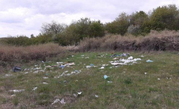 Probleme cu gunoiul în Baciu. Localnicii sunt revoltati