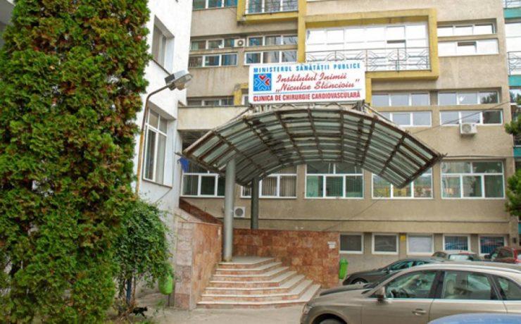 Doi pacienți depistați cu Covid-19 la Institutul Inimii au murit. Spitalul preia doar urgențele