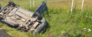 Accident mortal pe DJ108C, raza comunei Mănăstireni. FOTO VIDEO