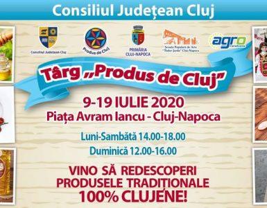 Produs de Cluj vine în centrul Clujului