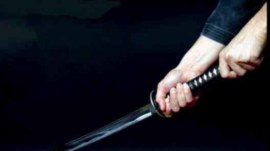 Tânăr amenințat cu sabia în apropiere de Dej VIDEO
