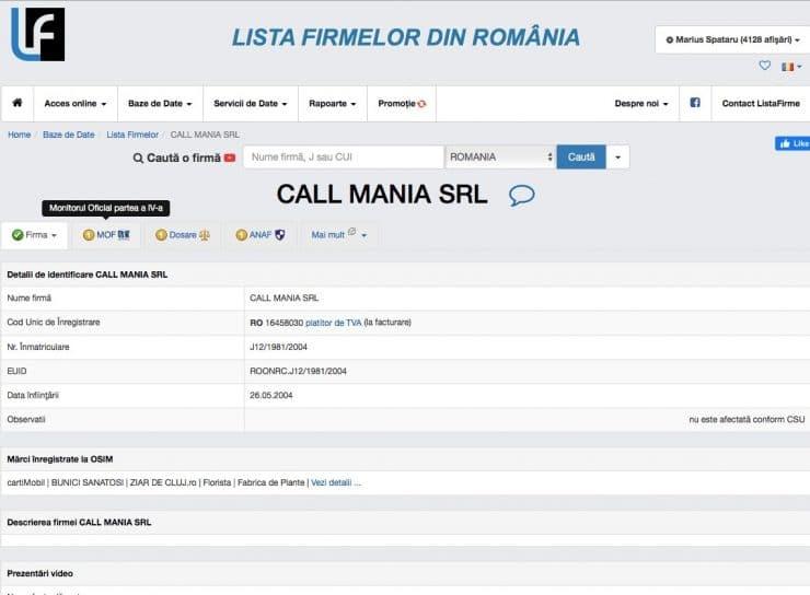 call mania 1