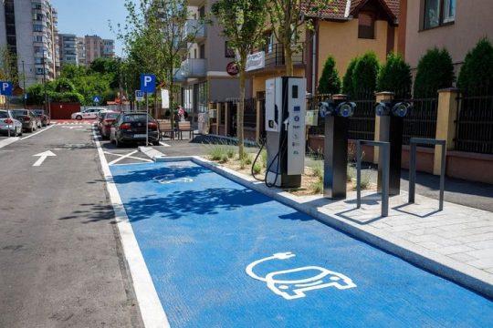 Cluj-Napoca: prima stradă smart din România a fost finalizată (str. Molnar Piuariu) FOTO