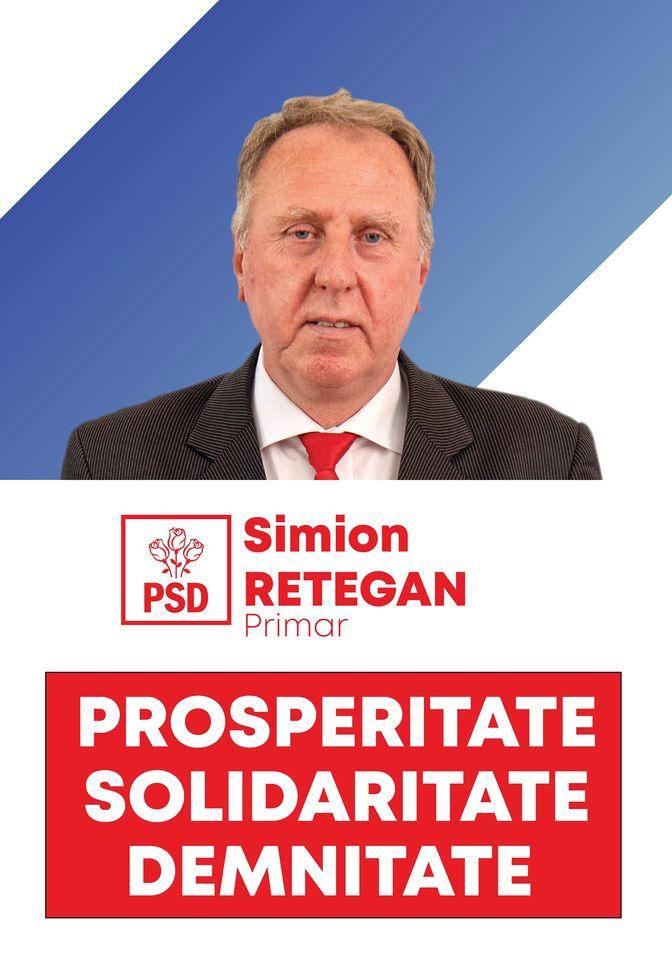"""Social-democratul Simion Retegan candidează la Primăria comunei sale natale, Cuzdrioara, și spune că a luat această decizie pentru că îi pasă de oameni. El afirmă că are încredere în bunul simț și vrea să facă administrația să meragă într-o directție bună. """"Sunt social-democrat și nu am nicio temere când vorbesc despre asta, ba dimpotrivă. Cred că politica s-a născut la stânga. Nu poți să te mobilizezi în a face politică dacă nu îți pasă de nevoia celor mai mulți dintre oameni. Dacă îți pasă, prețuiești solidaritatea, prețuiești egalitatea de șanse, prețuiești capacitatea unui stat de a dezvolta politici sociale pentru acei oameni care au nevoie de acest tip de protecție. Eu aceste valori le prețuiesc, eu așa sunt și cred că sunt un om bun . Cred în bun simț și inteligență și mă mobilizez imediat atunci când simt că oamenii bine crescuți și inteligenți au nevoie de mine. Acum e un astfel de moment. În comuna mea e nevoie de mine și de echipa mea pentru a face administrația să meargă într-o direcție bună. Sunt un om vesel și modest, dar fără falsă modestie va spun că știu ce am de făcut pe acest drum ales și, cu legea alături, va spun că voi face tot ce mi-am propus pentru oamenii din Cuzdrioara """", a declarat Simion Retegan, candidatul PSD la Primăria Cuzdrioara."""