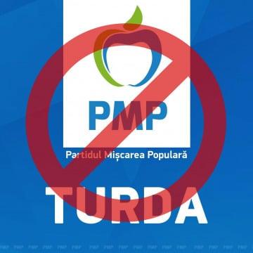 PMP Turda, după ce a scos, la locale, un scor mai mic decât cota TVA, se pare că e pe drumul desființării