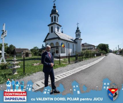 Mesajul primarului comunei Jucu, Valentin Dorel Pojar, dupa castigarea alegerilor