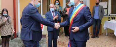 Valentin Dorel Pojar a depus jurământul pentru un nou mandat în calitate de primar al comunei Jucu