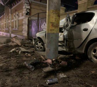 Grav accident lângă Fabrica de Bere FOTO VIDEO