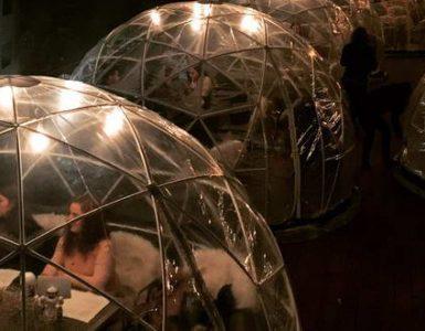 Autoritățile au amendat restaurantele din Cluj care au construcții de tip iglu