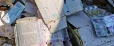 Medicamentele găsite la Someşul Cald fac parte din același lot cu cel de la Tarniţa