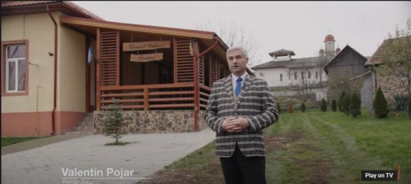 Candidatul PSD Cluj la Camera Deputaților, Alexandru Cordoș, alături de primarul comunei Jucu