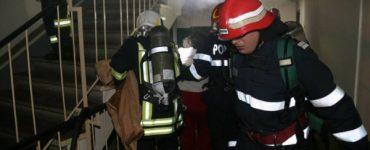 Incendiu într-un bloc din Florești. Au fost trimise două echipaje SMURD